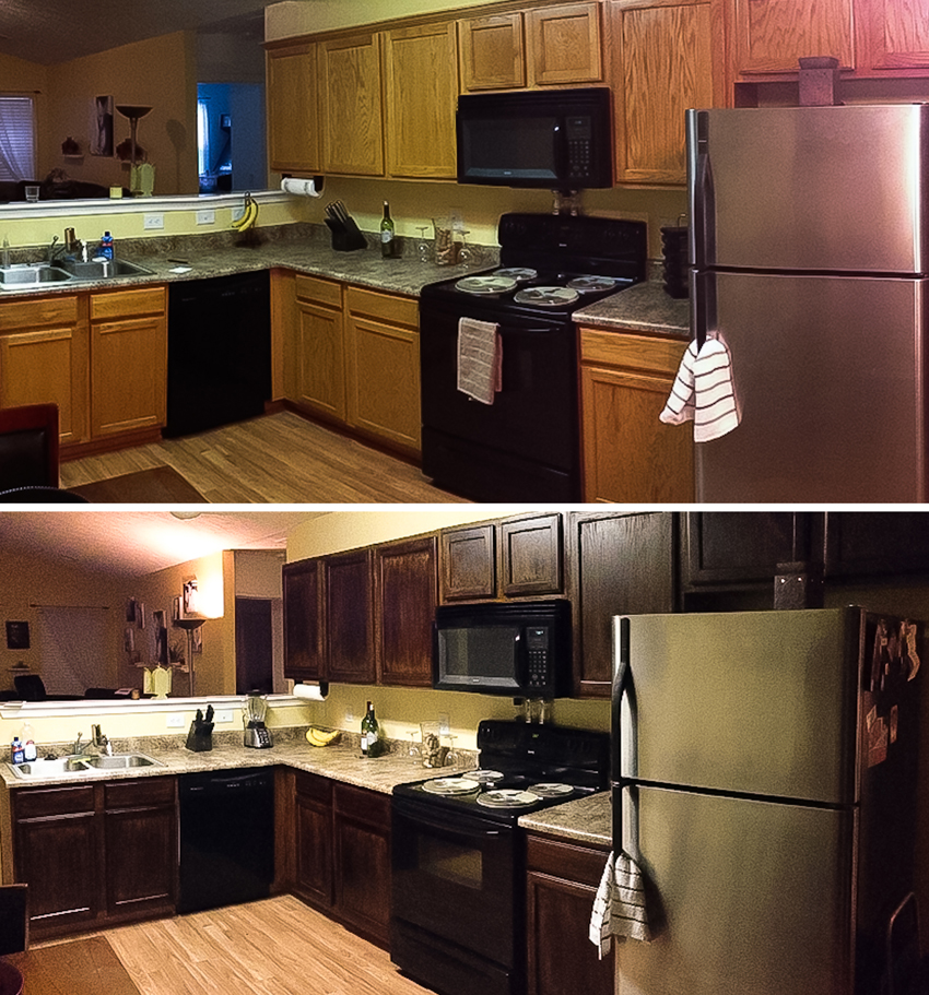 New Kitchen Before And After: Before And After » Sarah-Marie