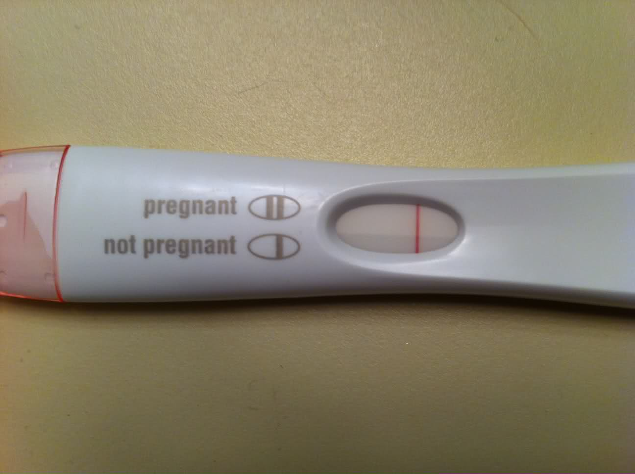 first response pregnancy test negative images