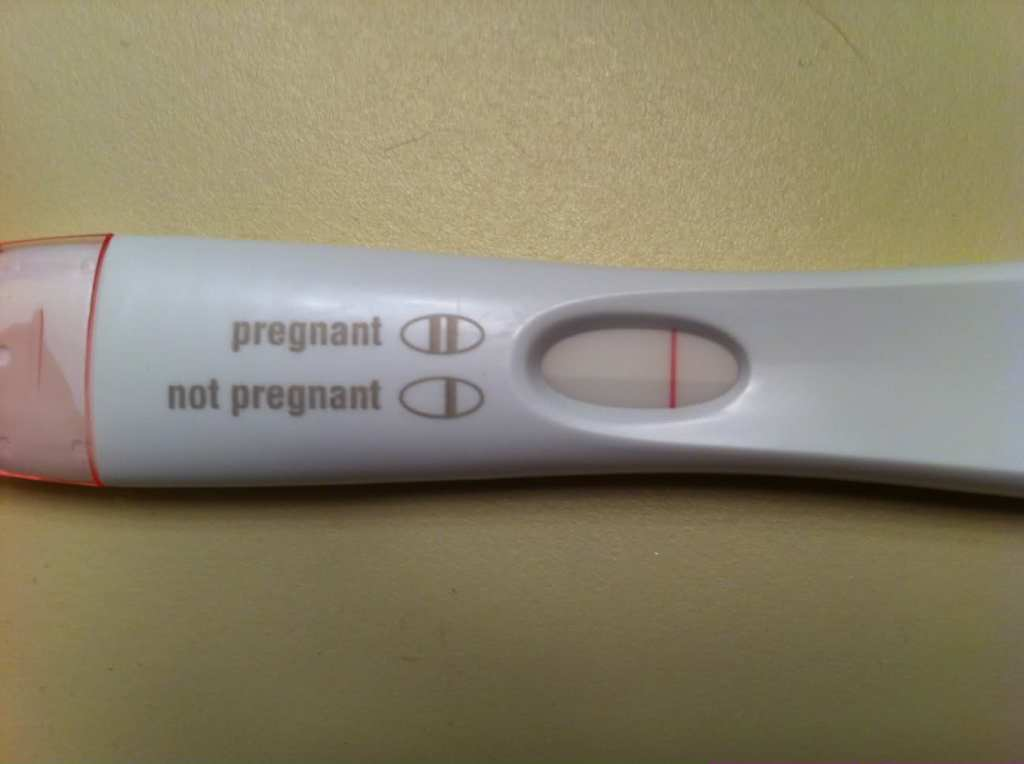 Image result for negative pregnancy test